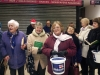 Carol Singing at Leigh Station Dec 2012