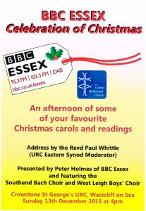 BBC Essex Celebration of Christmas 2015