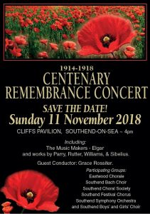 Remembrance Concert 2018 Poster